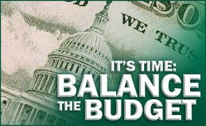 US Debt Balanced Budget